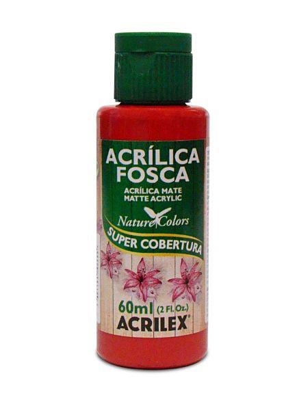 03560_Tinta Acrílica Fosca 60ml Vermelho